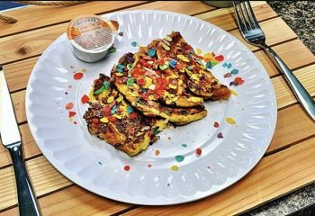 #14 Fruity Pebbles French Toast