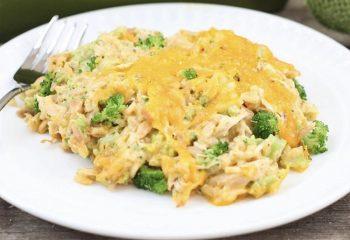 Cheesy Rice Broccoli Casserole-1lb