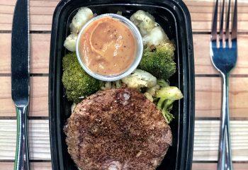 #2 Skinny Burger Bowl